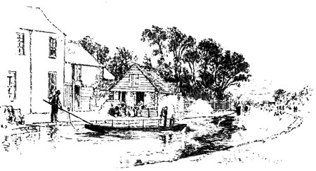 Until the 1960s the only way to cross the canal in Jericho was via the ferry