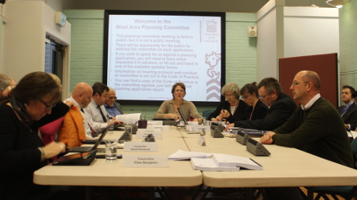 The West Area Planning Committee, chaired by Louise Upton (centre), has to ensure that the transfer agreement between SIAHAF and the JWT is fair and reasonable.