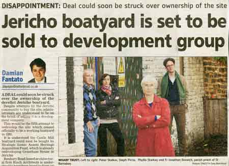 <p>Oxford Mail report. A link to this is at the end of the article.</p>