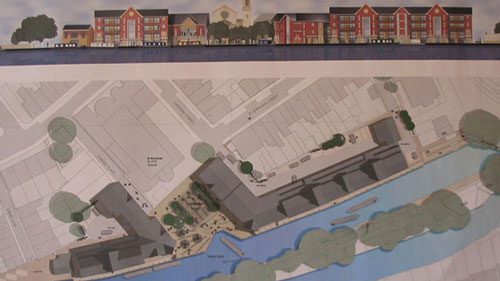 <p>In 2003, Bellway Homes took an option on the site, planning for high-density housing.</p>