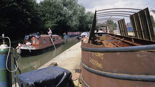<p>As well as repairing boats, the Castlemill Boatyard was used for boatbuilding - © Adrian Arbib</p>